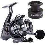 Sougayilan Light Weight Ultra Smooth Aluminum Spinning Fishing Reel