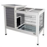 Petsfit Rabbit Hutch, Bunny Cage, Wood, for Indoor Use