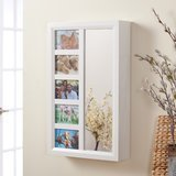 Finley Home Photo Frames Wall Mounted Jewelry Armoire
