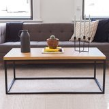 Nathan Home Solid Wood Coffee Table