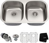 Kraus 16-Gauge Stainless Steel Sink