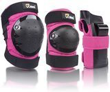 JBM International Adult/Child Knee Pads Elbow Pads Wrist Guards 3 In 1 Protective Gear Set