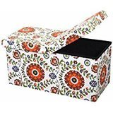 Otto and Ben Storage Ottoman with SMART LIFT