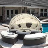 Christopher Knight Home Bellagio 4-Piece Outdoor Daybed Sectional Set