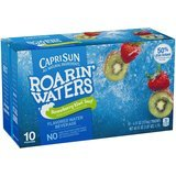 Capri Sun Roarin' Waters Flavored Water Beverage, 6-Ounce Pouches, 4 Boxes of 10