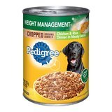 Pedigree Weight Management Chicken & Rice Canned Dog Food