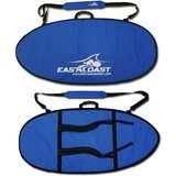 East Coast Skimboards ECS Skimboard Padded Travel Bag with Backpack Straps - Small 45""