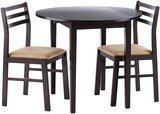 Coaster Home Furnishings Coaster 3-Piece Dining Set