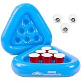 GoPong Pool Pong Rack Floating Beer Pong Set