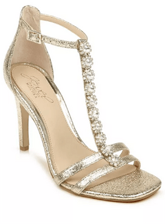 Jewel Badgley Mischka Farida Evening Sandals