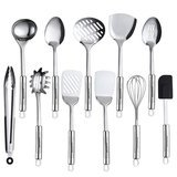 Maphyton 11-Piece Stainless Steel Utensil Set