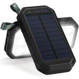 Titita Solar Charger, 8000mAh Solar Power Bank