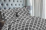 Utopia Bedding Brushed Microfiber Printed Duvet Cover With Shams