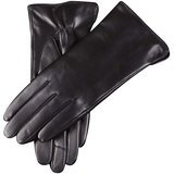 WARMEN Women's Touchscreen Leather Gloves