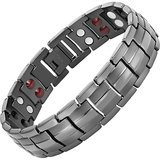 Willis Judd Double Strength 4 Element Titanium Magnetic Therapy Bracelet